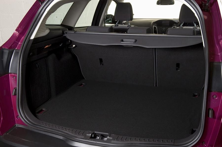 Ford Focus Estate boot space