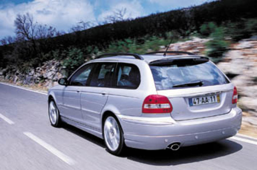 jaguar x type 2 2d estate review autocar. Black Bedroom Furniture Sets. Home Design Ideas