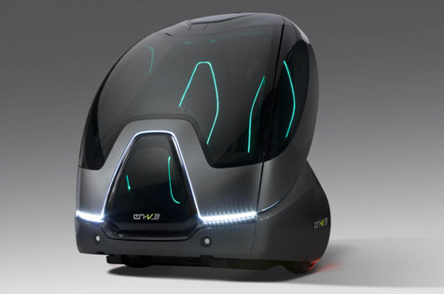 GM pushes EN-V Pods tech