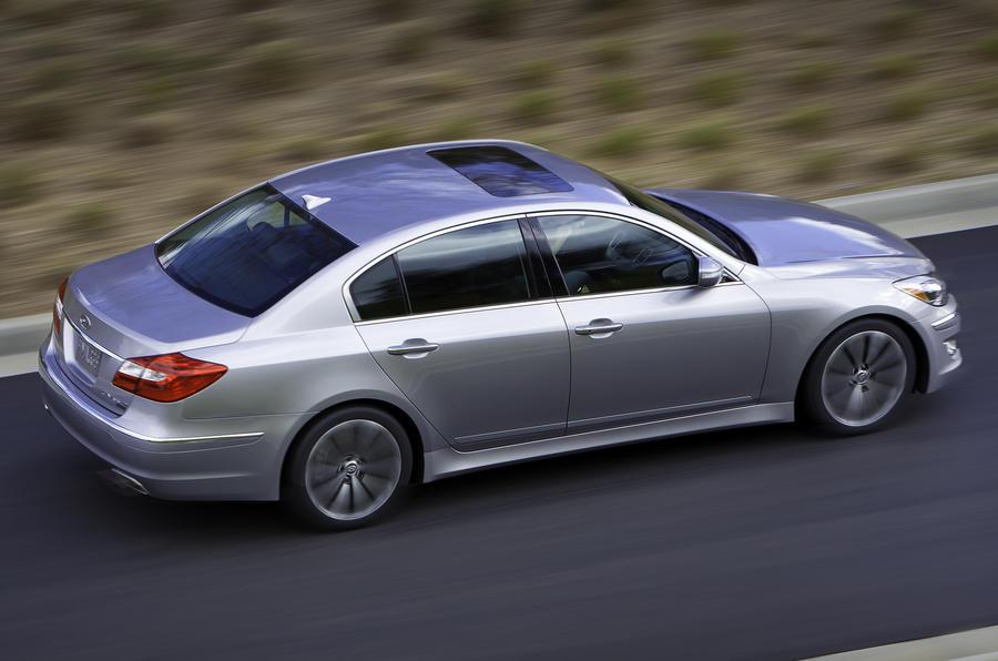 Hyundai Genesis side profile