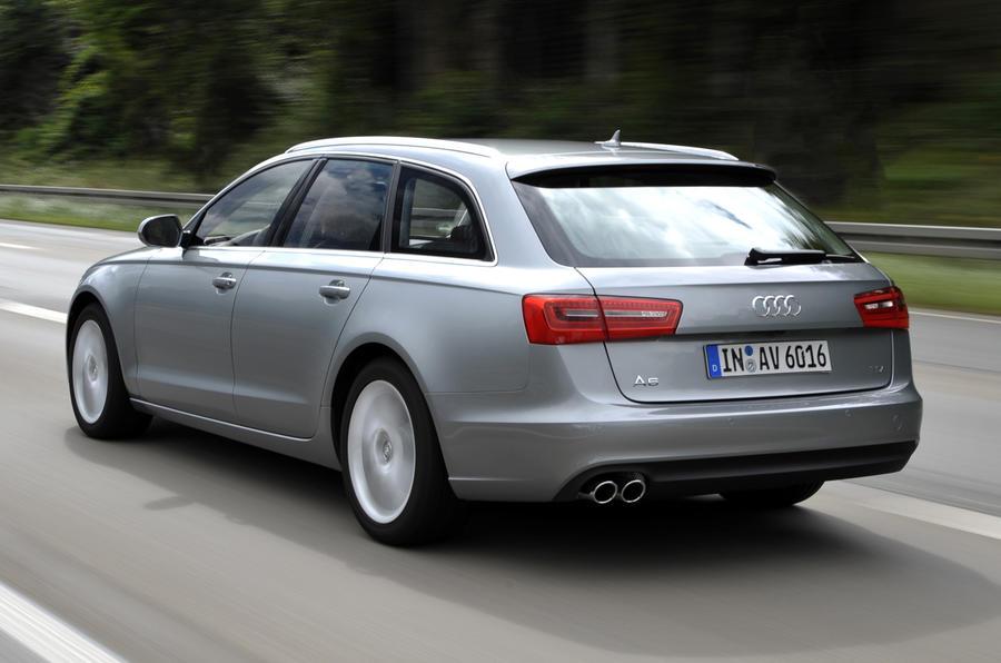 Audi A6 Avant rear