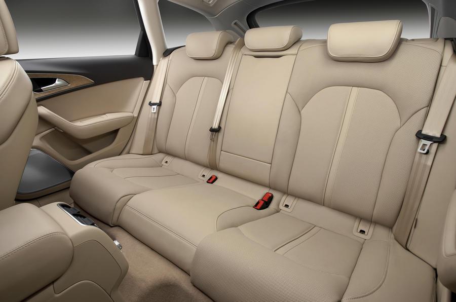 Audi A6 Avant rear seats