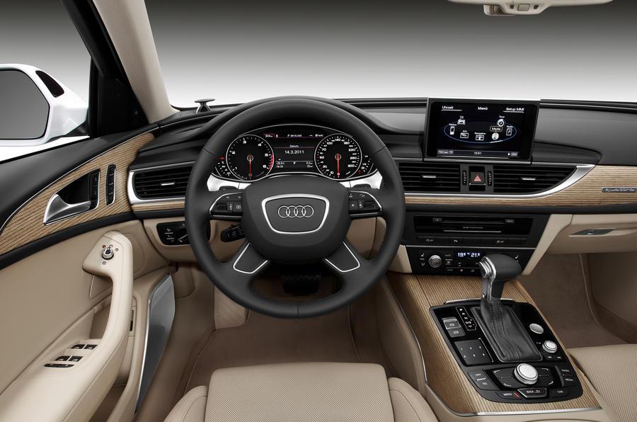 Audi a6 2 0 tdi avant review autocar for Audi a6 avant interieur