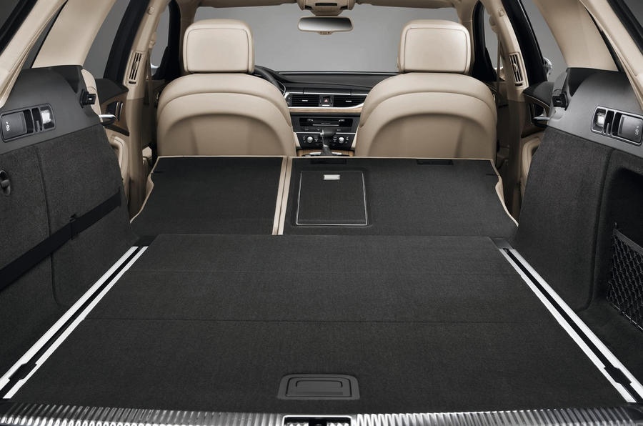 Audi A6 Avant extended boot space