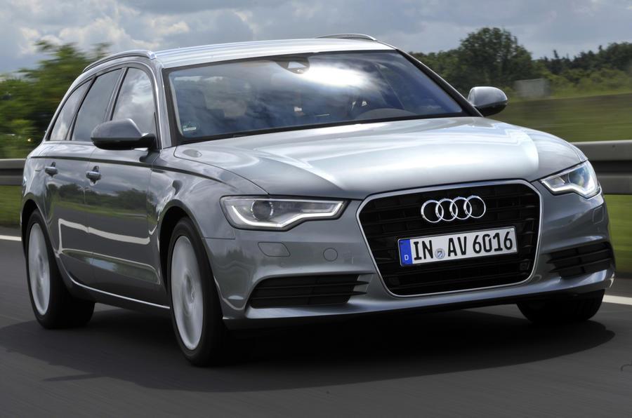 Audi A6 Avant front quarter