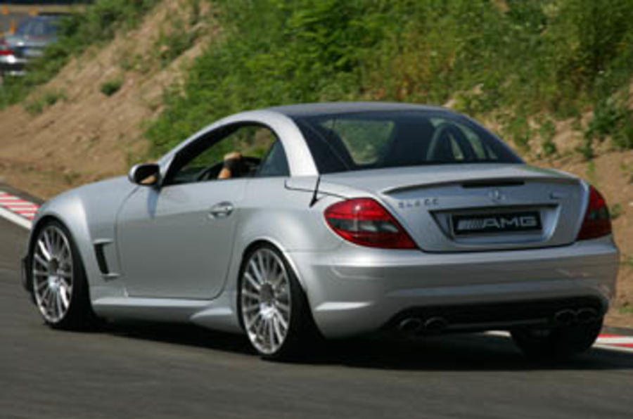 Mercedes-Benz SLK55 AMG Black Edition
