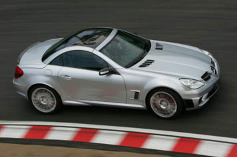 Mercedes-Benz SLK 55 AMG Black Edition