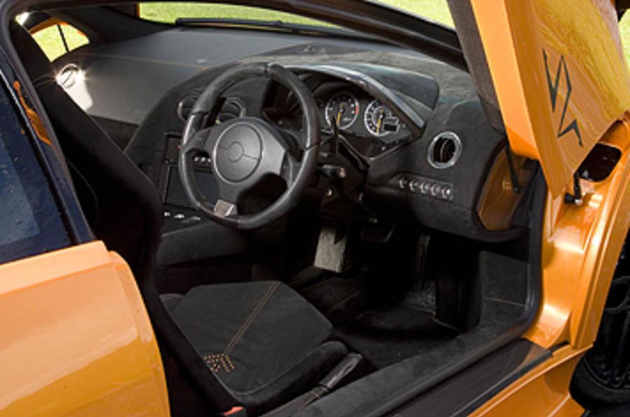 Lamborghini Murciélago SV interior