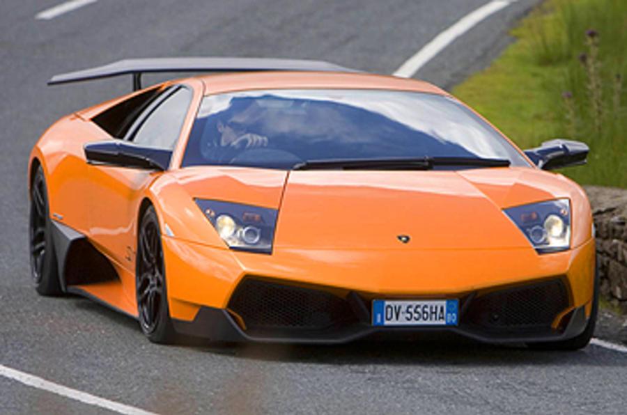 Lamborghini Murciélago SV review