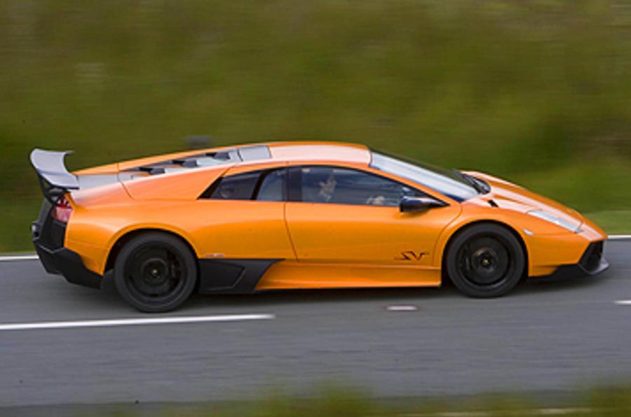 Lamborghini Murciélago SV side profile