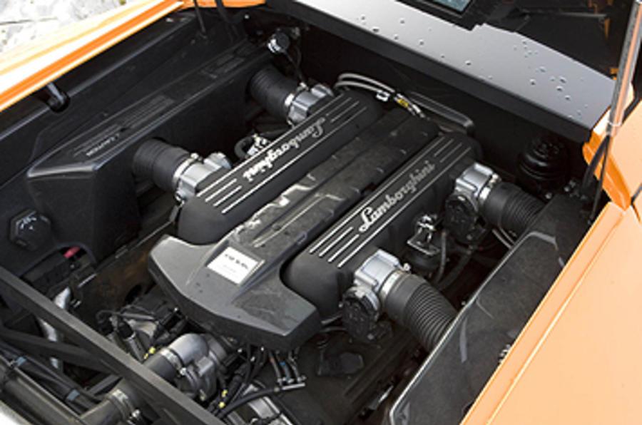 6.5-litre V12 Lamborghini Murciélago SV engine