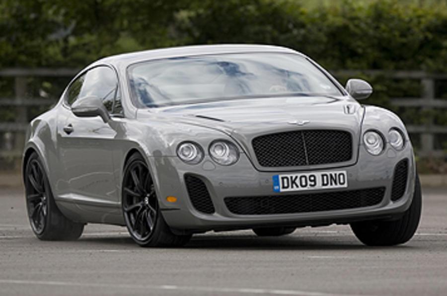 Bentley Continental Supersports cornering