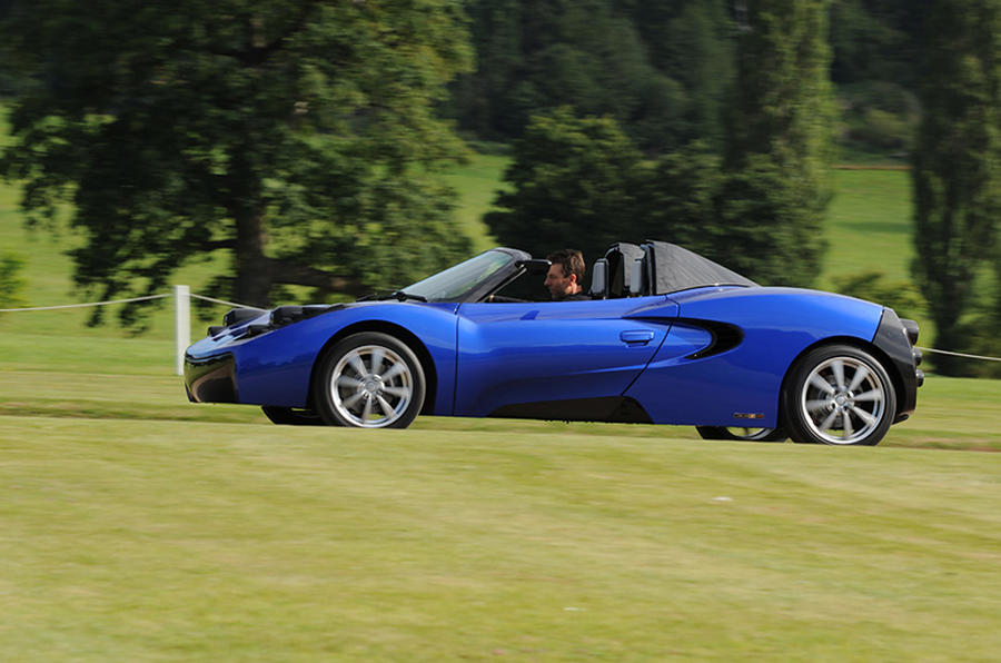 Murray's sports car - new pics