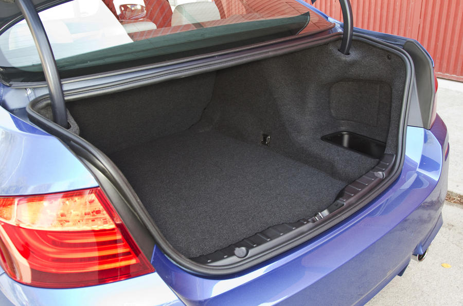 BMW M5 boot space