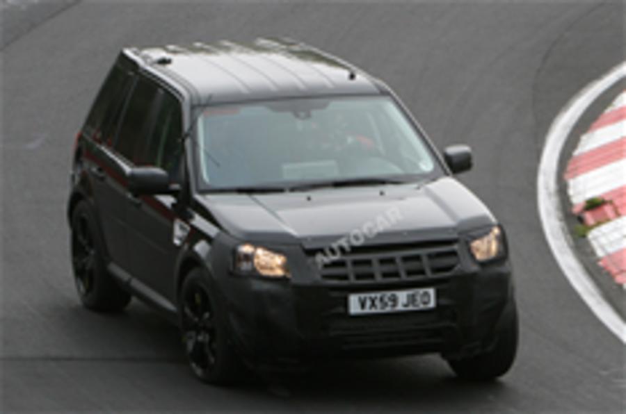 Range Rover LRX spied