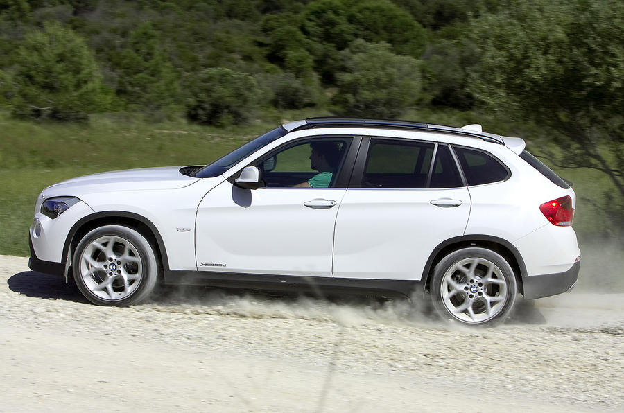BMW X1 off-road