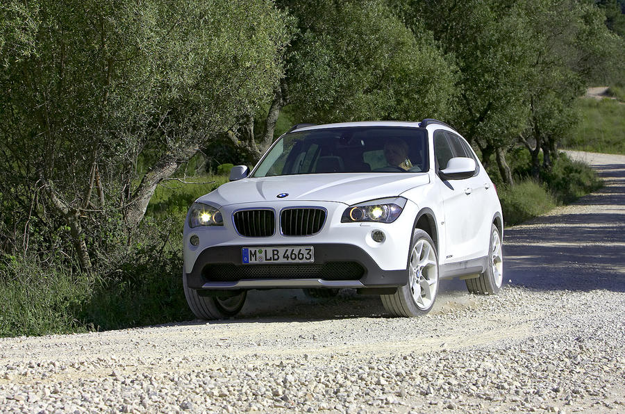 BMW X1 off-roading