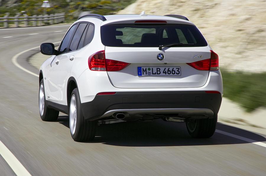 BMW X1 rear