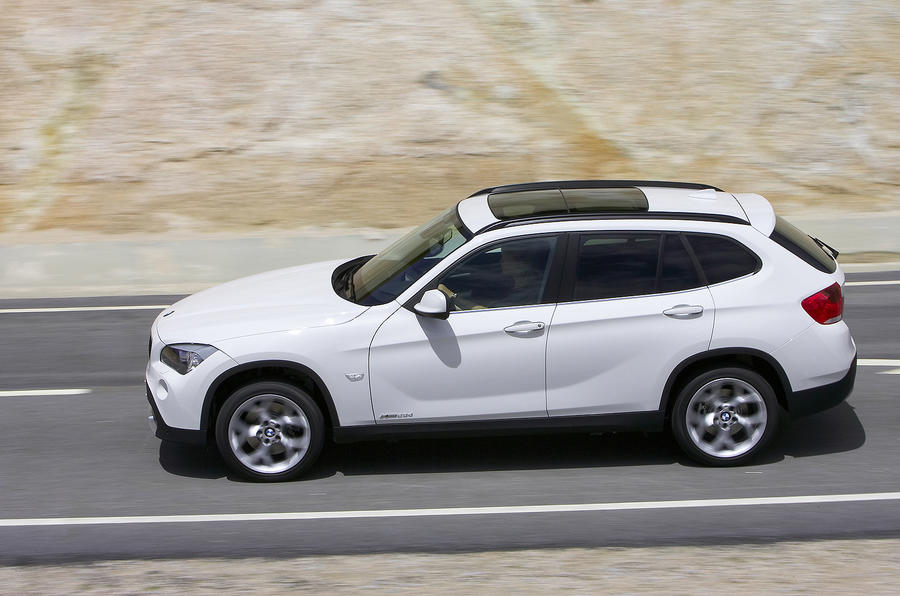 BMW X1 side profile