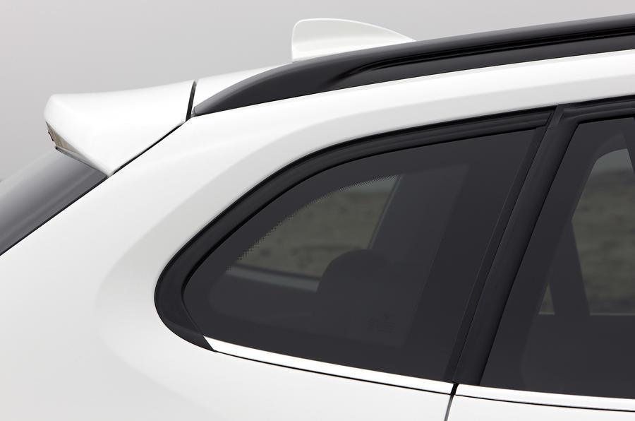 BMW X1 rear spoiler