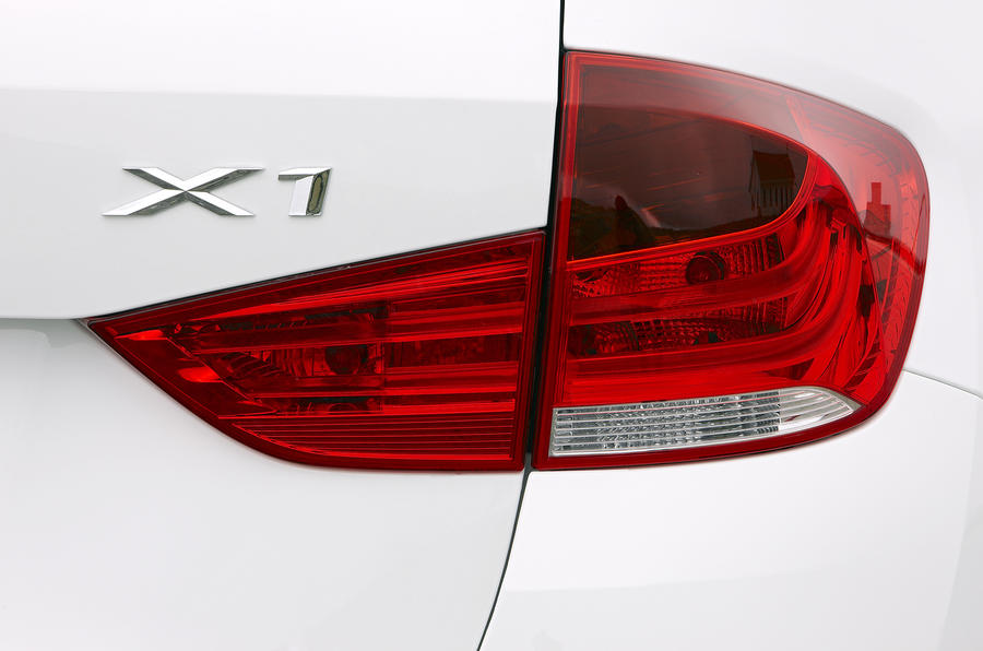 BMW X1 rear lights