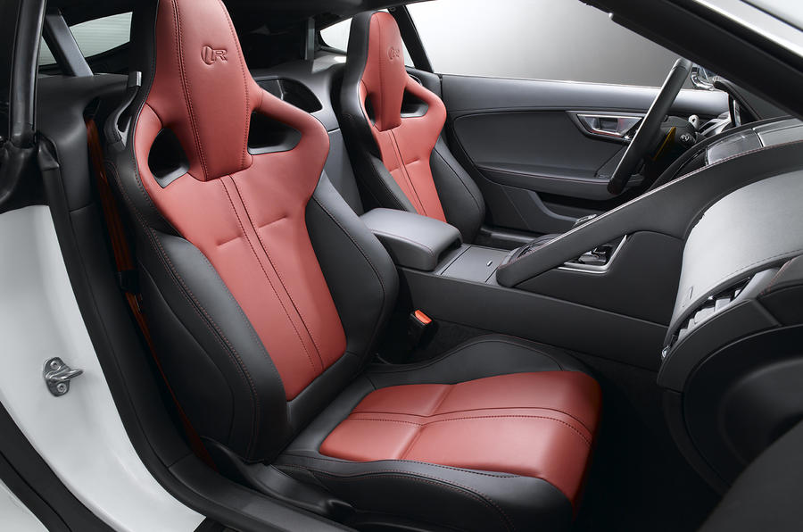 jaguar f type coupe revealed autocar. Black Bedroom Furniture Sets. Home Design Ideas