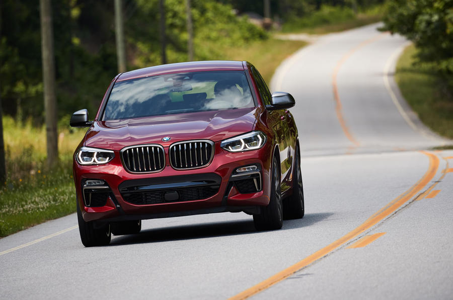 BMW X4 2018 road test review on the road front