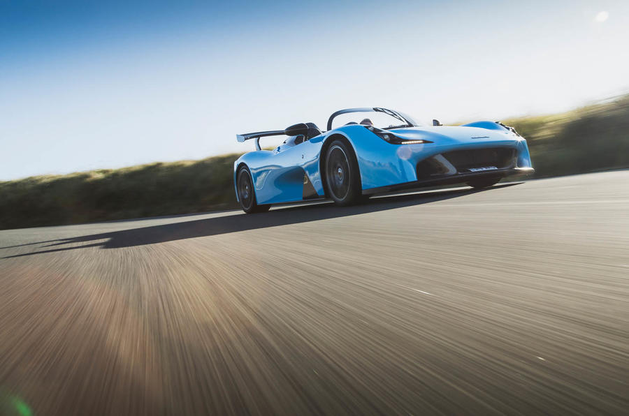 Dallara Stradale 2019 road test review - cornering front