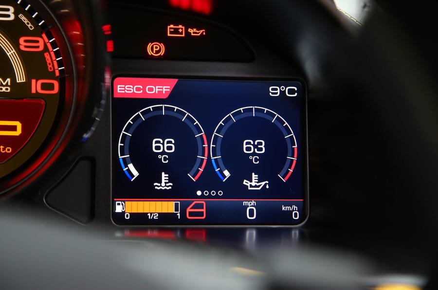 Ferrari 812 Superfast 2018 road test review temperatures