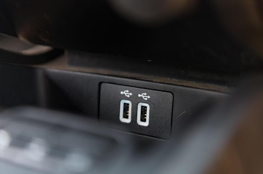 Ford Ranger Raptor 2019 road test review - USB ports