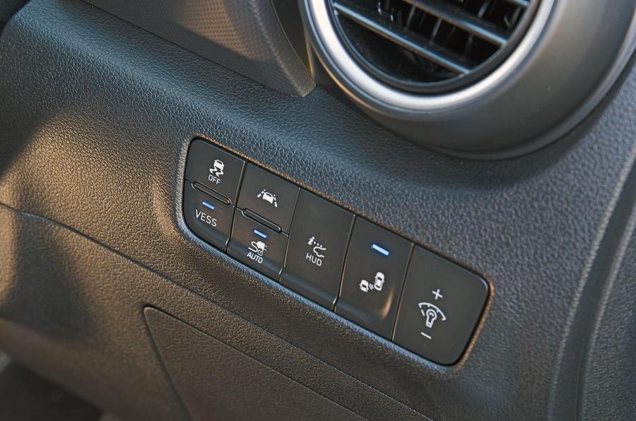 Hyundai Kona Electric 2018 road test review - assist controls