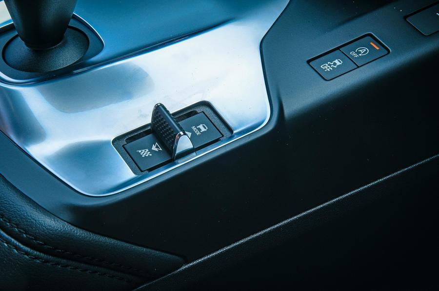 Jaguar E-Pace review drive modes