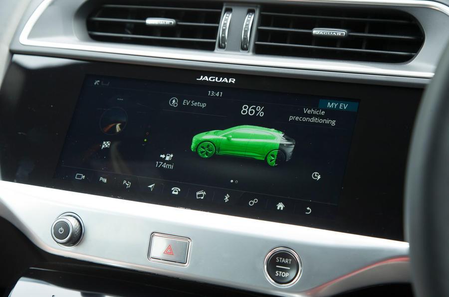 Jaguar I-Pace 2018 road test review battery status