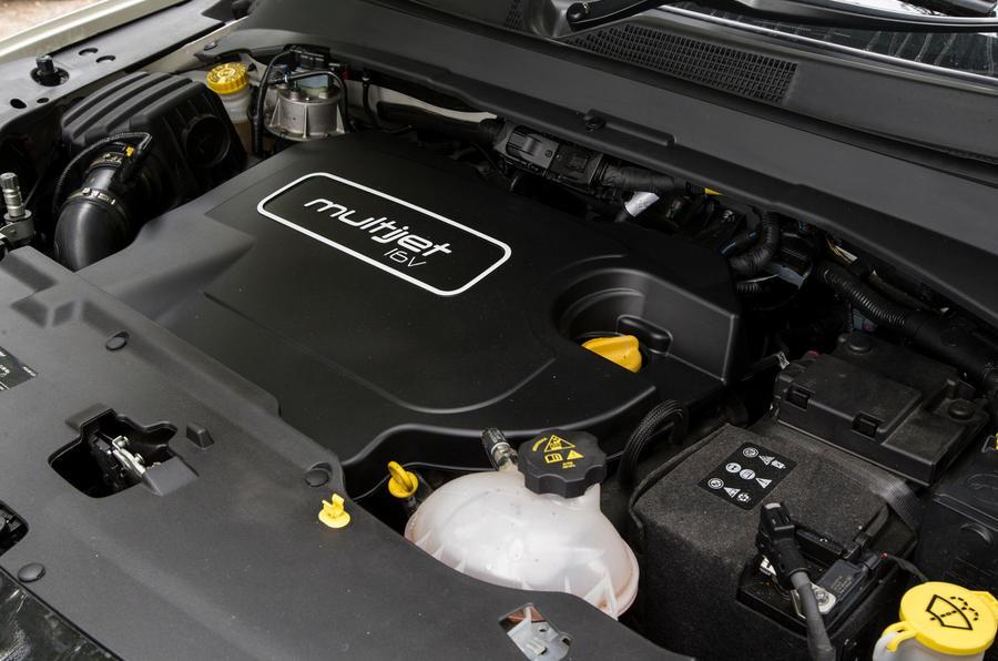 Jeep Compass 2018 highway exam examination - engine