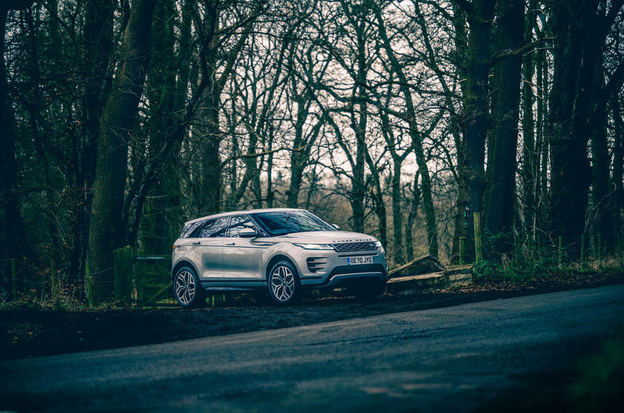 22 Land Rover Range Rover Evoque 2021 : essai routier statique