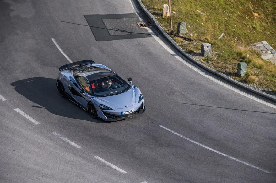 McLaren 600LT 2018 review - on the road corner
