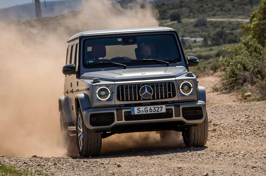 Mercedes-AMG G63 2018 review dirt front