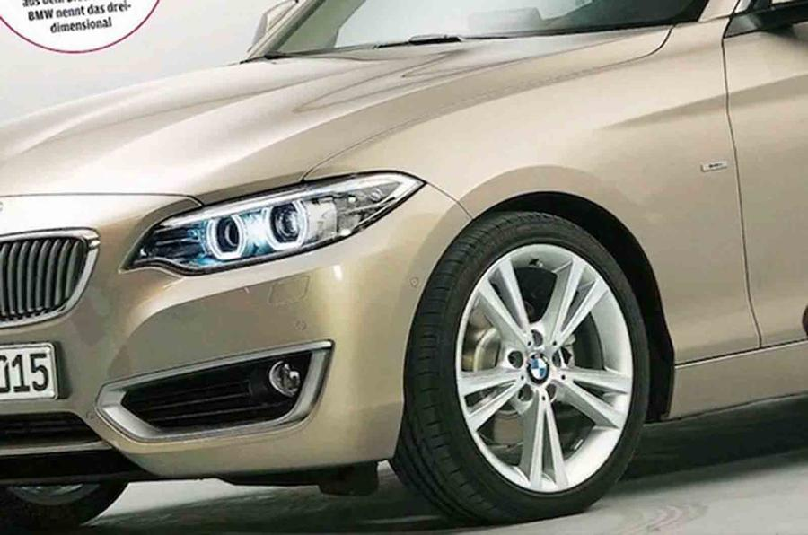 BMW 2-series coupe leaked online