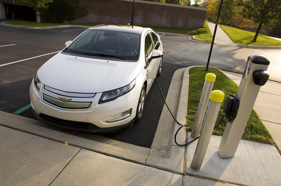 Charging the Chevrolet Volt