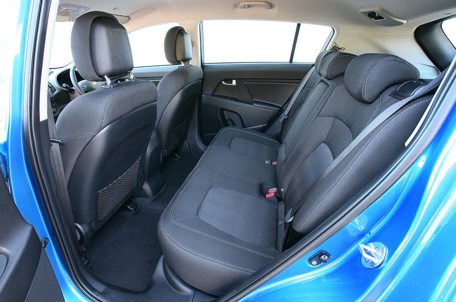 Kia Sportage rear seats
