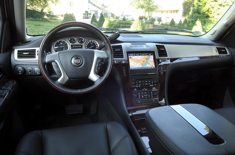 Cadillac Escalade hybrid interior