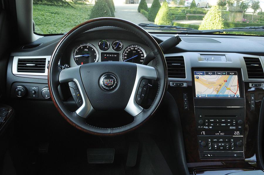 Cadillac Escalade hybrid dashboard