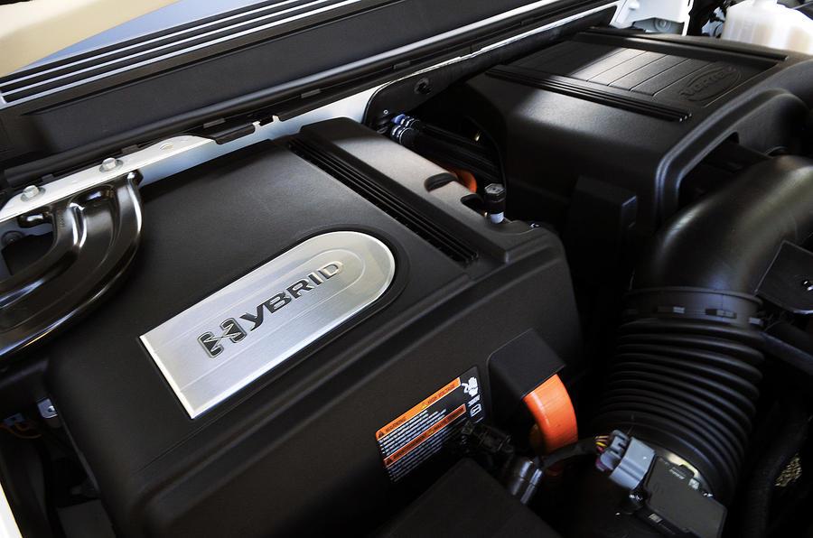 Cadillac Escalade hybrid engine