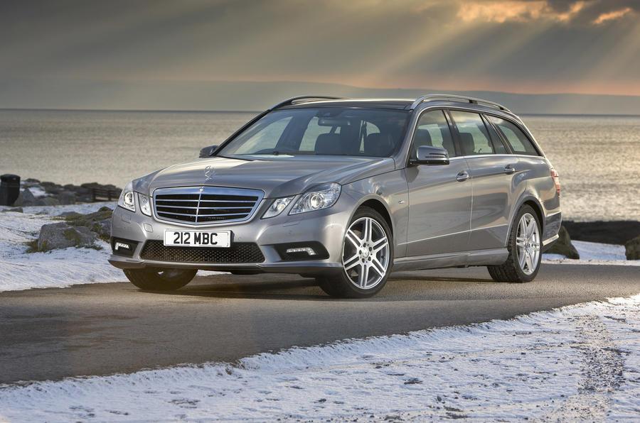Mercedes-Benz E-Class front quarter