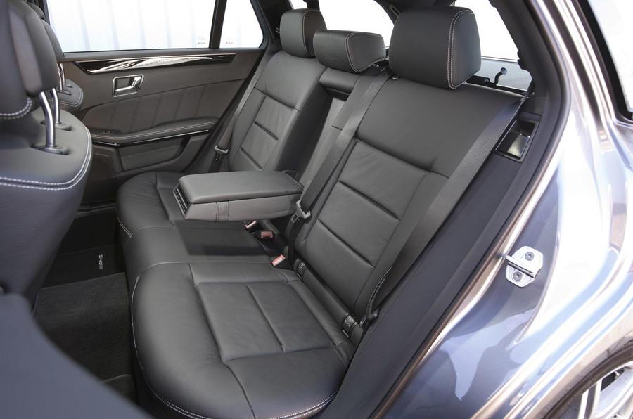 Mercedes-Benz E-Class estate rear seats