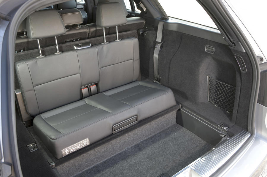 Mercedes E-Class estate rear seats