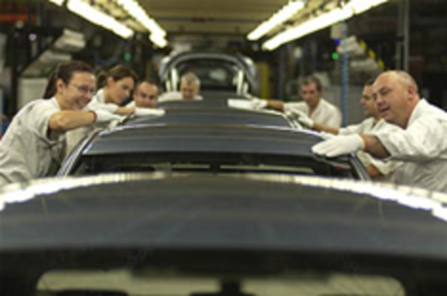UK car production rises
