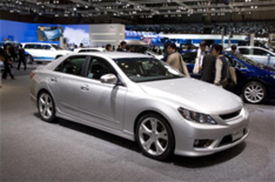 Toyota Mark X - show pics