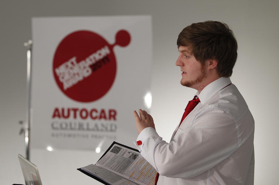 Brunt wins Autocar-Courland award