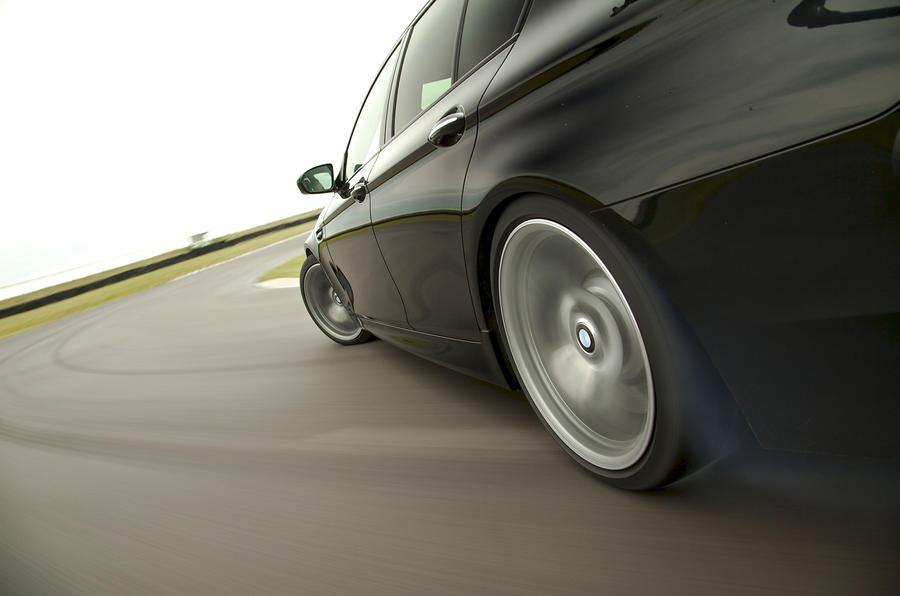 BMW M5 (UK drive)